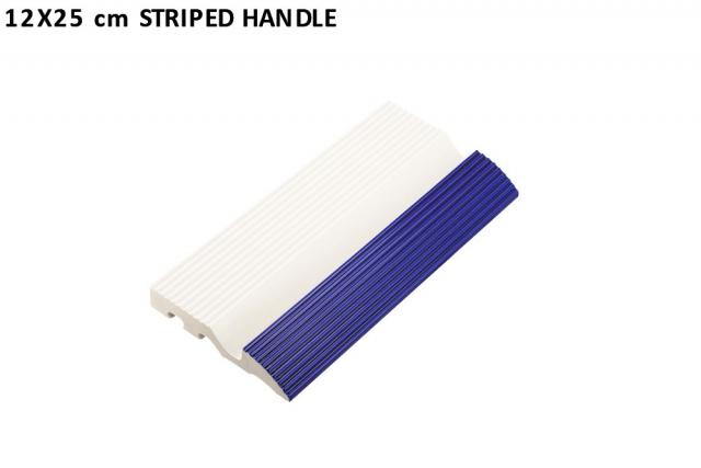 12x25 cm striped handle