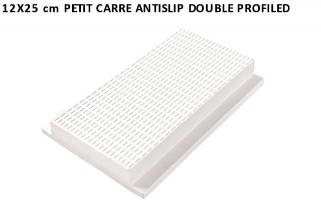 12x25 cm petit carre antislip double profiled